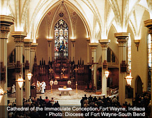 Cathedral of the Immaculate Conception, Fort Wayne, Indiana