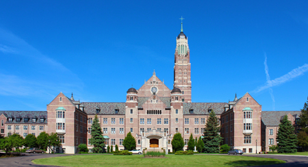 The Pontifical College Josephinum, designed by Saint Louis architect Francis A. Ludewig and completed in 1931. Photo credit: flickr.com/Eridony