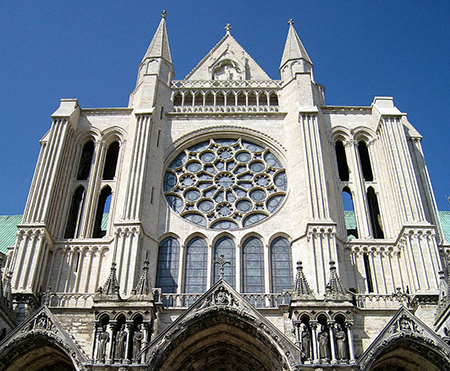 The South transept of Chartres Cathedral. Photo: flickr.com/Spencer Means
