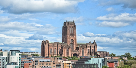 Anglican Cathedral Church of Christ in Liverpool, England. Photo credit: liverpoolpicturebook.com