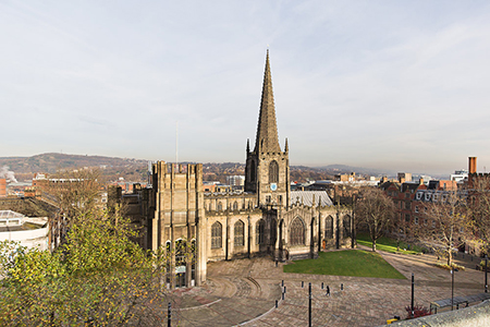 Respondents in a recent study named the Anglican cathedral in Sheffield one of the most beautiful buildings in the city. Photo: sheffieldcathedral.org