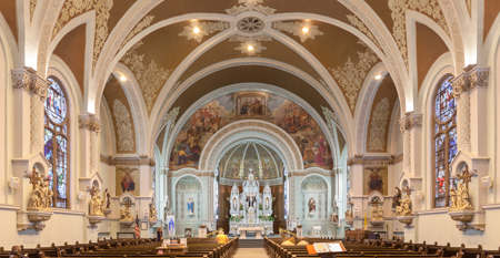 Saint Joseph Church in Hammond, Indiana