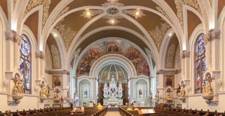 Saint Joseph Church in Hammond, Indiana