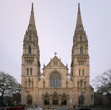 Saint Paul Cathedral, Pittsburgh. Photo: wikipedia.com/Dllu
