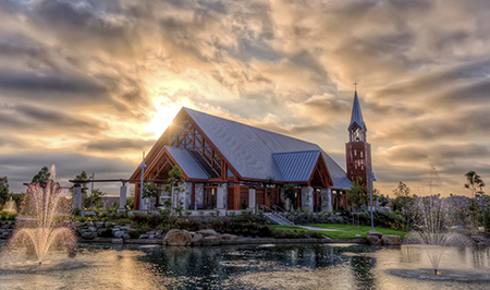Mariner's Church Chapel represents the high end of the scale of the case study research (most preferred, most beautiful). Photo: Visioneering Studios and davega photography 2009