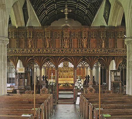 All Saints Church in Kenton, England