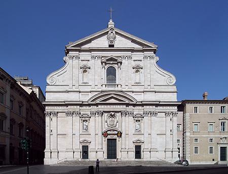 Chiesa del Santissimo Nome di Gesù all'Argentina in Rome. Photo: Wikimedia.org/Alessio Damato