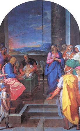 Muziano's Circumcision. Photo: The Jesuits and the Arts 1540-1773