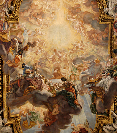 The Triumph of the Name of Jesus by Giovanni Battista Gaulli, 1679. Photo: Wikimedia.org/Marie-Lan Nguyen