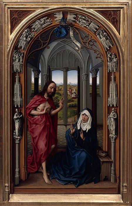 The Miraflores Altarpiece by Rogier van der Weyden. Image: wikimedia.org