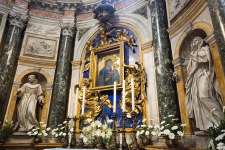 The Chigi Chapel in the Cathedral of Siena