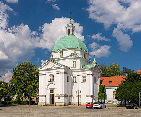 The reconstructed church of Saint Casimir. Photo: wikimedia.org/LoMit