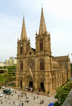 Catholic Landscape Have Retained Their Aesthetic Appeal As Present Day Chinese Architects Continue To Build Churches After The French Gothic Style