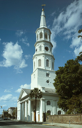 The institute for sacred architecture articles soaring steeple hence nearly every major colonial american city received one or more churches inspired by gibbss plates of saint martin sciox Choice Image